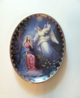 The Annunciation Collector Plate