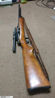 For Sale: JC Higgins 101.16 22 s/l/lr tube fed semi auto w/ scope and sling
