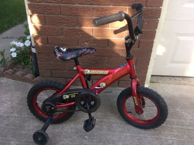12.5 bike with training wheels