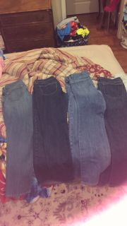 Size 12 old navy jeans