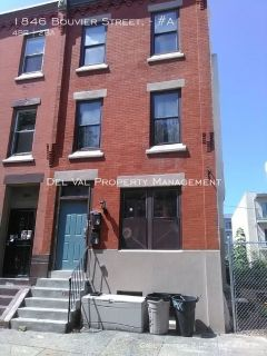 Students Welcome in Renovated 4-Bdrm 1st FL Apartment for Rent NOW - 1846 Bouvier Street, #A