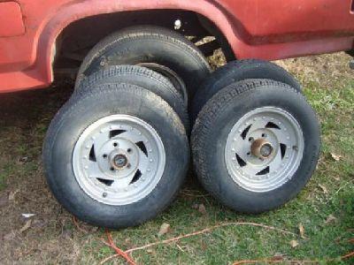 $125 Set of Toyota Aluminum Rims