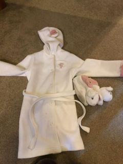 Angelina ballerina mouse robe and slippers size large