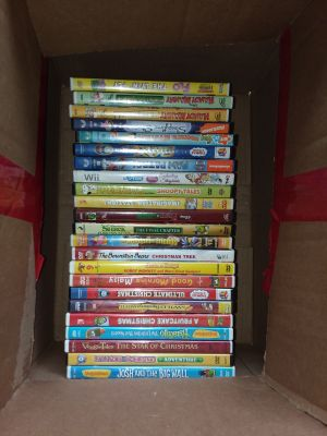23 kids DVDs like new excellent condition priced at $2 each $45 for all!!