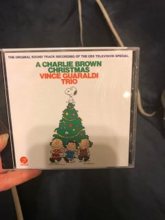 Charlie Brown Christmas cd NEW in plastic