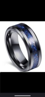 Celtic Dragon Men s Wedding Band