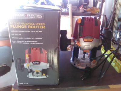 plunge router 1.5 hp