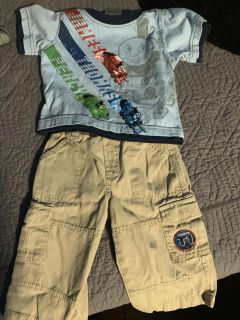 Thomas the Train Outfit - size 12 months