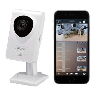 Haicam End-to-end Encryption (E2EE) IP Security Camera, Play Time-Lapse Video History in iOS/Android/Windows/Mac/TV Apps (E21)