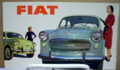Find 1960 ? Fiat 500 600 1100 1200 Sales Brochure motorcycle in Holts Summit, Missouri, United States, for US $11.99