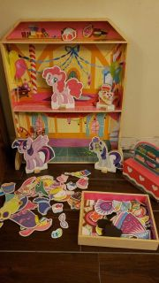 My Little Pony Wooden/magnetic play set