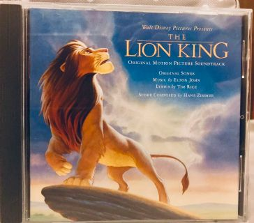 Lion King Soundtrack CD