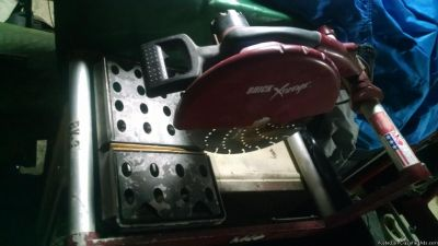 MK portable brick and paver saw