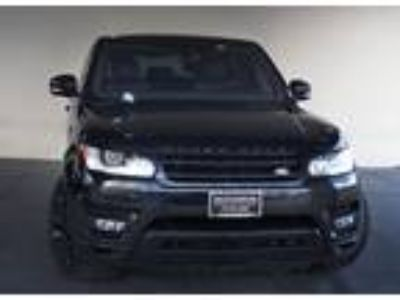 2017 Land Rover Range Rover Sport 5.0L V8 Supercharged Dynamic