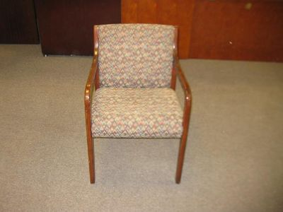 $75, Wood side chair
