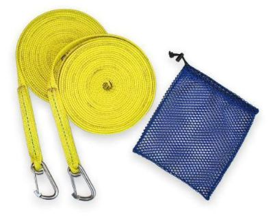 Buy 2 Sailboat Yellow 25' Jackline Strap Stainless Steel Hook motorcycle in Pasadena, Texas, United States, for US $47.50