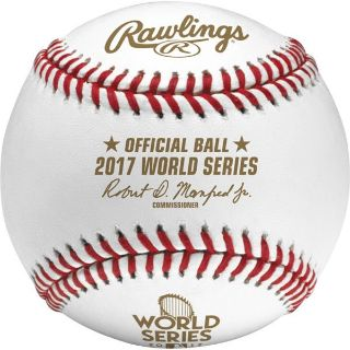 ASTROS Official 2017 World Series Game Baseball - New in Case - Sell Today!