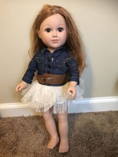 My Life doll with cowgirl outfit