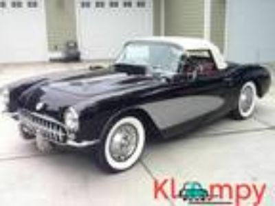 1957 Chevrolet Corvette Both