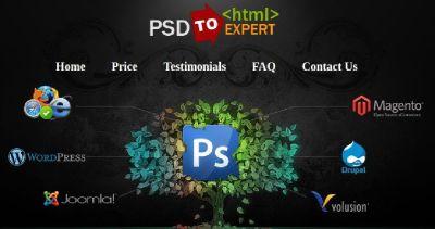 PSD to HTML Expert