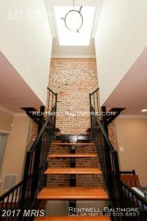 3 beds, 3 baths I $2100 | 227 N Milton Ave Baltimore, MD 21224 | Parking Pad!