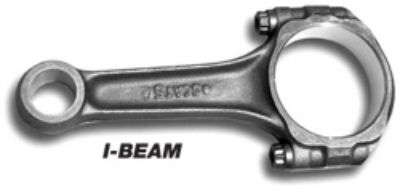 Scat I beam connecting rod set arp bolts