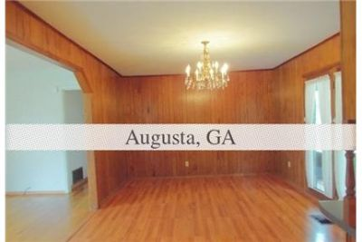 Augusta - This amazingly well built all brick 3-bedroom home. Washer/Dryer Hookups!