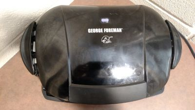 George Foreman GRP0004B The Next Grilleration Grill, Black (T=21)