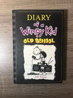 Diary of a Wimpy Kid Old School hardback book