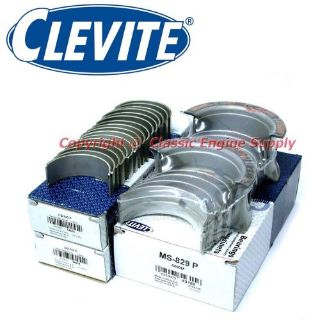 Sell New Clevite Standard Rod & Main Bearing Set 366 396 402 427 454 502 Chevy bb motorcycle in Indianola, Iowa, United States, for US $93.59