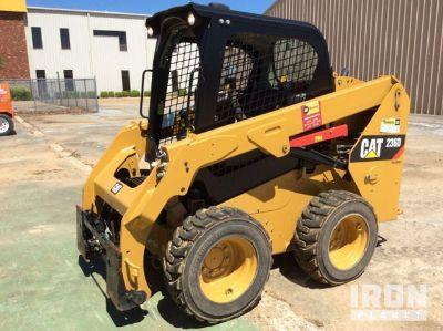 2015 (unverified) Cat 236D Skid-Steer Loader