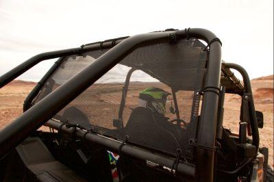 Polaris RZR razor MotoRoof rear window panel - Mesh