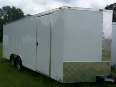 NEW 8.5X24 ENCLOSED CARGO TRAILER