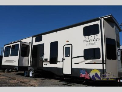 New 2019 Forest River RV Wildwood Lodge 42DL