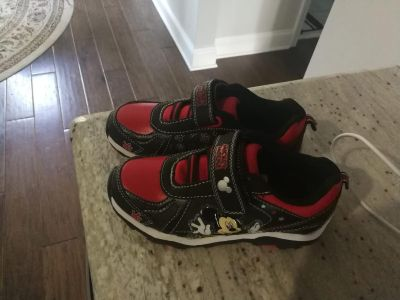 New Micky mouse shoes