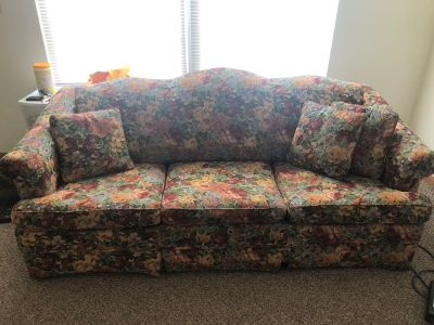 FREE floral couch