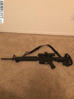 For Sale: AR-15 RRA with IOR scope