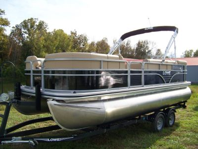 2019 Lowe SS210 2-LOG WITH MERCURY 115 PRO XS CT & TRAILER Pontoon Boats West Plains, MO