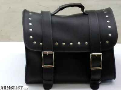 For Sale: LEATHER MOTORCYCLE BAGS