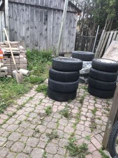 Tire with rims for Honda Civic 4hole50% left $10 each