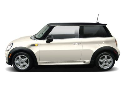 2009 MINI Cooper Base (Pepper White)