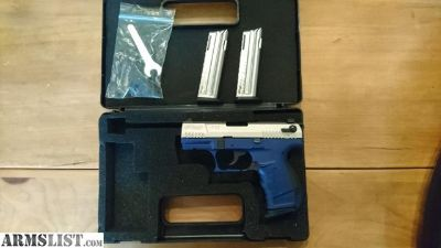 For Sale: Walther P22 Blue and Nickel