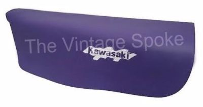 Sell KAWASAKI KL250 KLR250 1991-2005 PURPLE GENUINE REPLICA SEAT COVER SC-1142 motorcycle in Abilene, Kansas, United States, for US $38.50