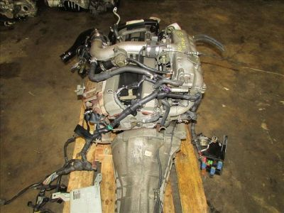 JDM 93-98 Nissan Skyline R33 GTS-T 2.5L S2 RB25DET Engine & 5 Speed Manual Trans