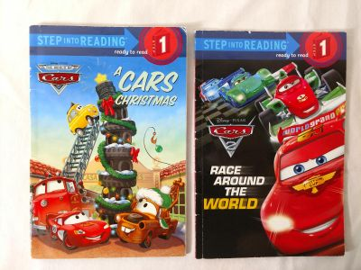 Cars early reader books
