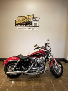 2012 Harley-Davidson Sportster 1200 Custom Sport Motorcycles Mentor, OH