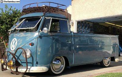 1960 VW Slammed Patina d Single cab