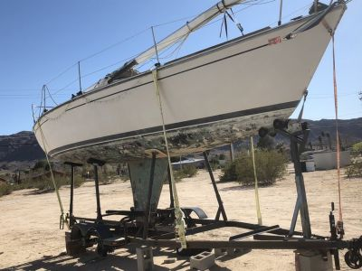 Sail boat 30 with trailer