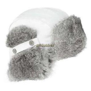Buy 2017 Ladies' Vintage Rabbit Fur Hat - White motorcycle in Sauk Centre, Minnesota, United States, for US $67.99