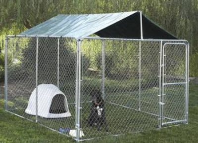 Dog containment kennel  pen 72x120